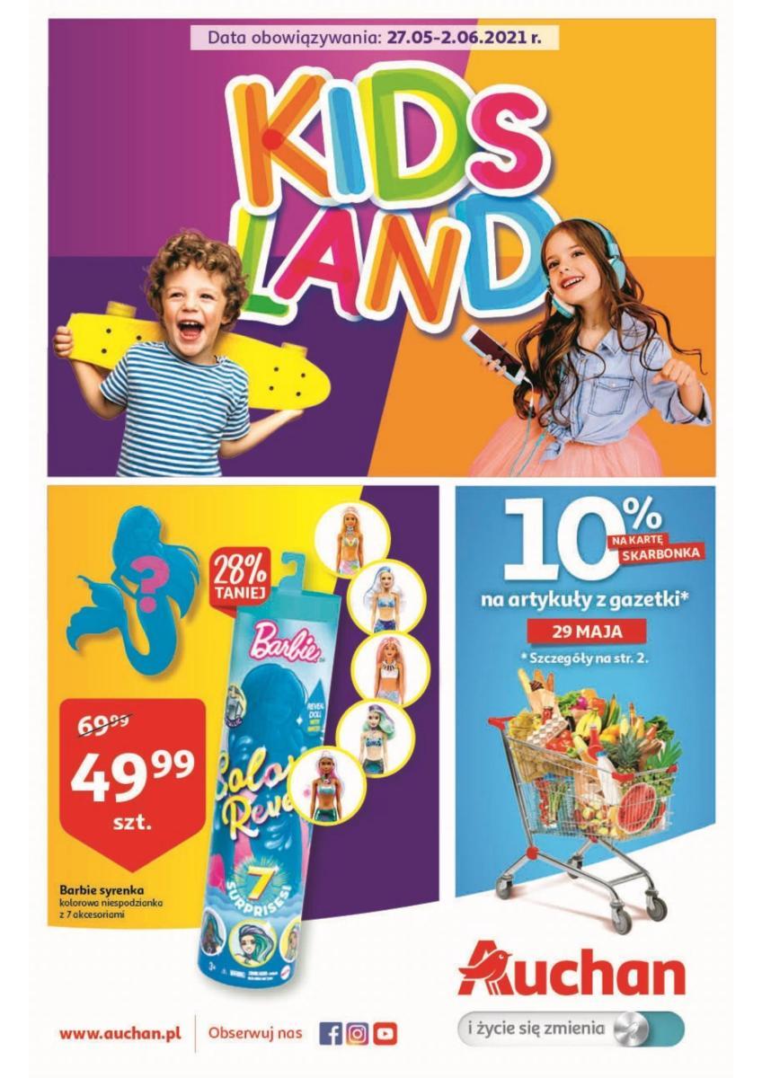 Gazetka Auchan - Kids Land
