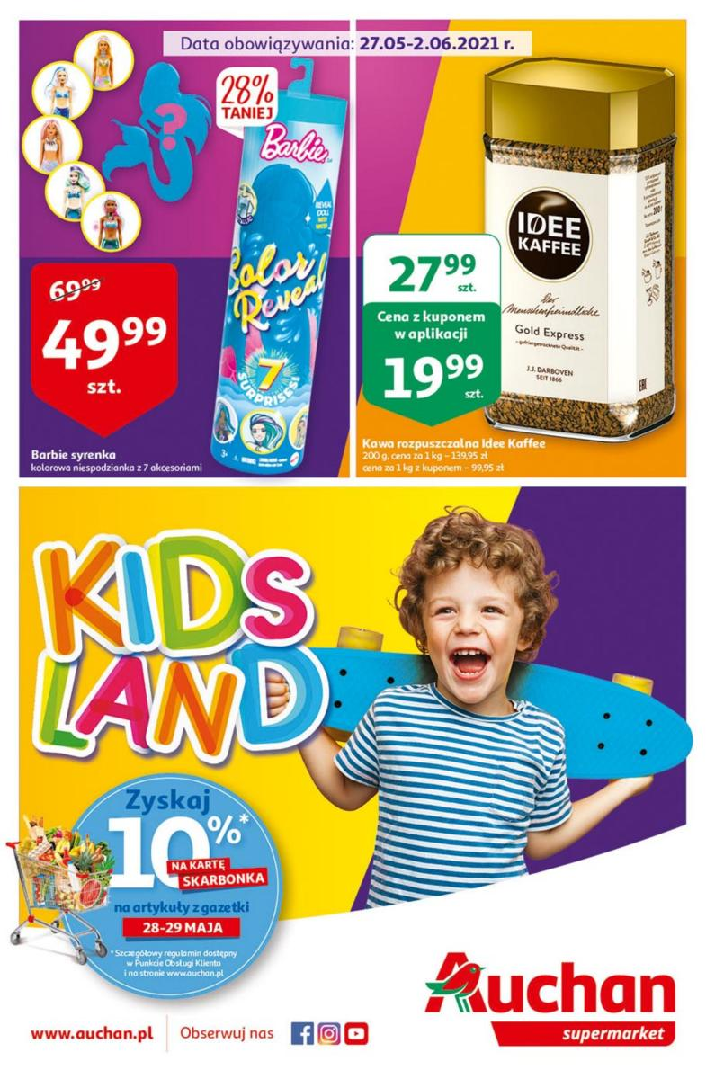 Gazetka Auchan - Kids Land Supermarkety