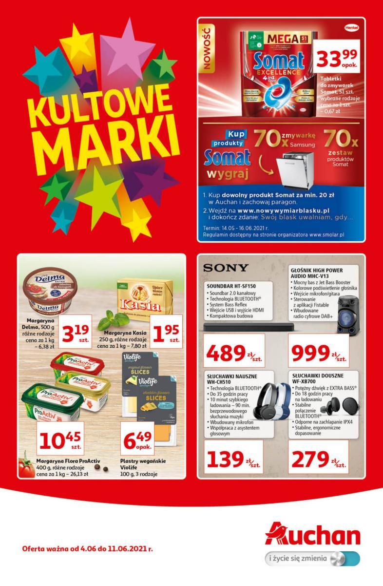 Gazetka Auchan - Kultowe Marki Hipermarkety