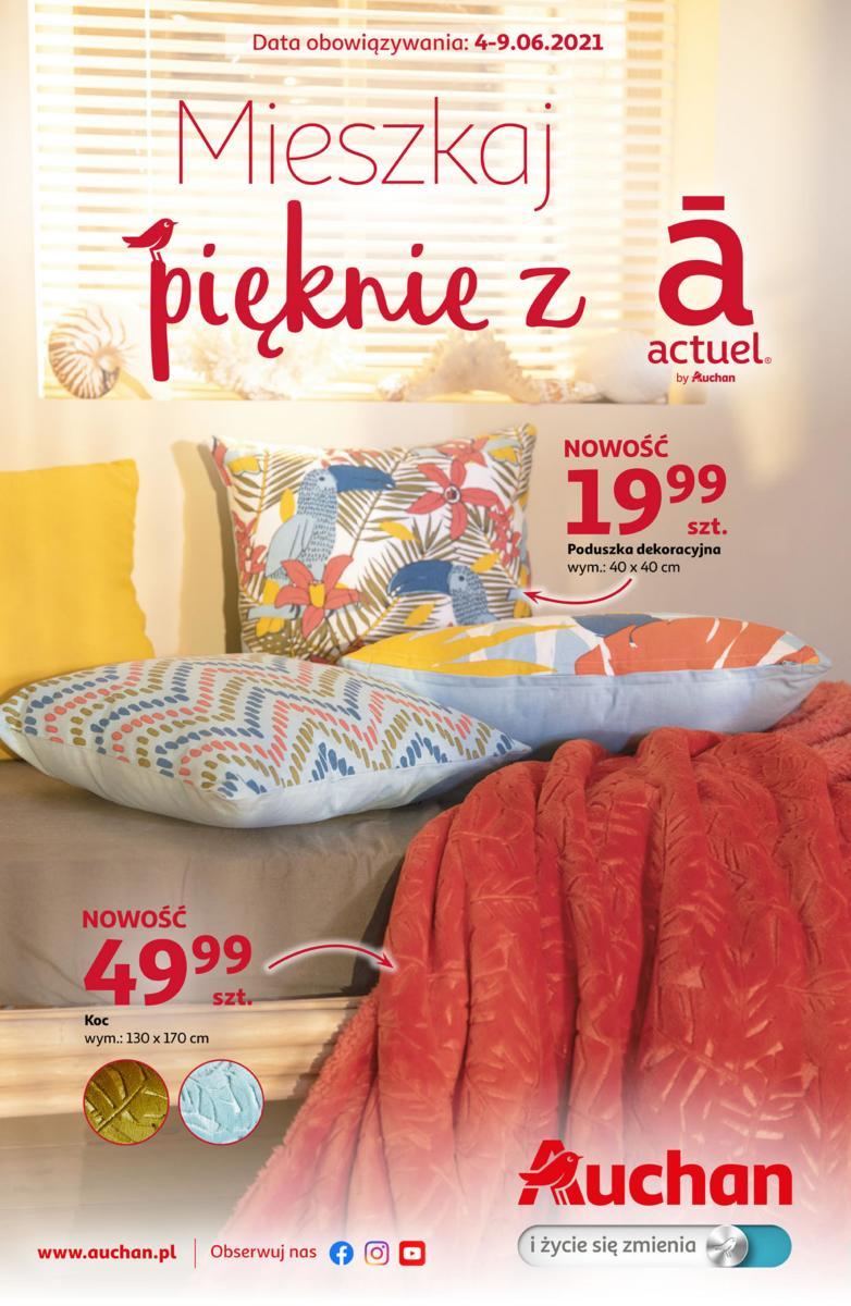 Gazetka Auchan - Mieszkaj pięknie z Actuel Hipermarkety
