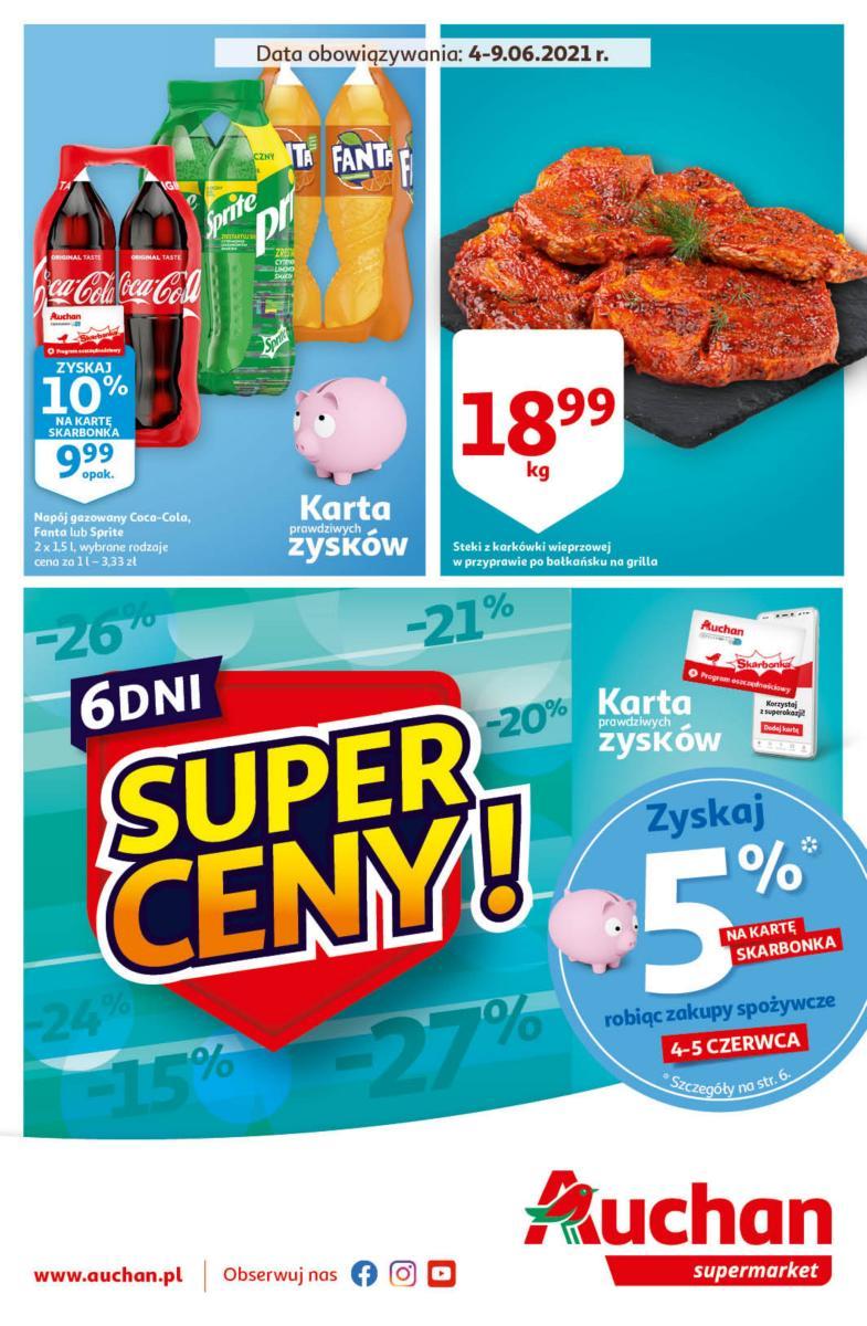 Gazetka Auchan - Super Ceny Supermarkety