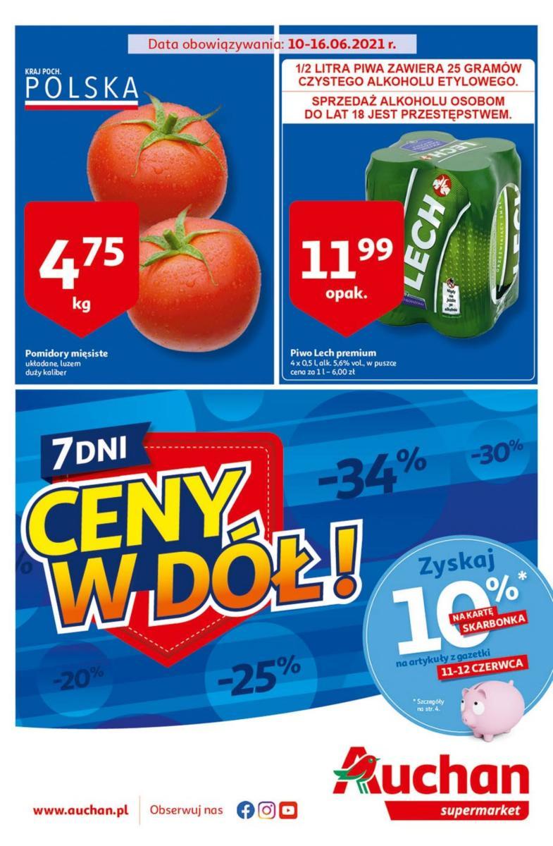 Gazetka Auchan - Ceny w dół Supermarkety