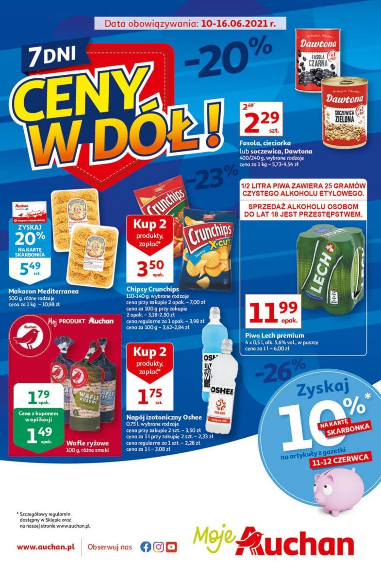 Gazetka Auchan - Ceny w dół Moje Auchan