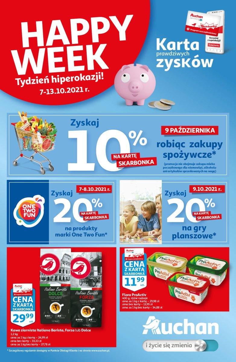 Gazetka Auchan - Skarbonka #40