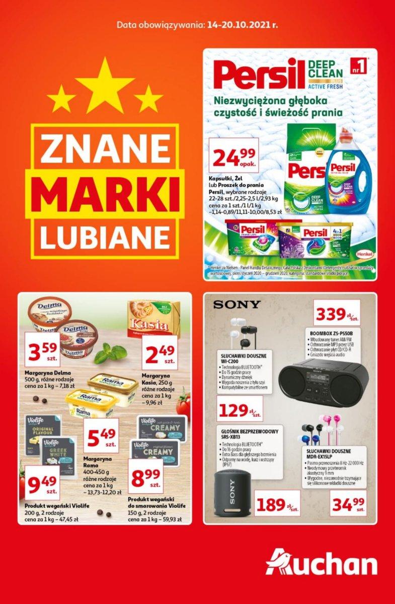 Gazetka Auchan - Marki znane lubiane