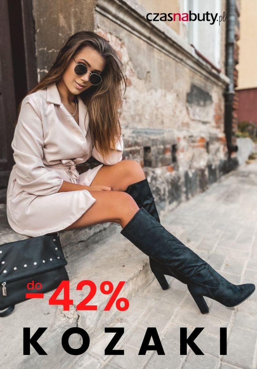 Gazetka Czasnabuty.pl - Do -42% kozaki na jesień