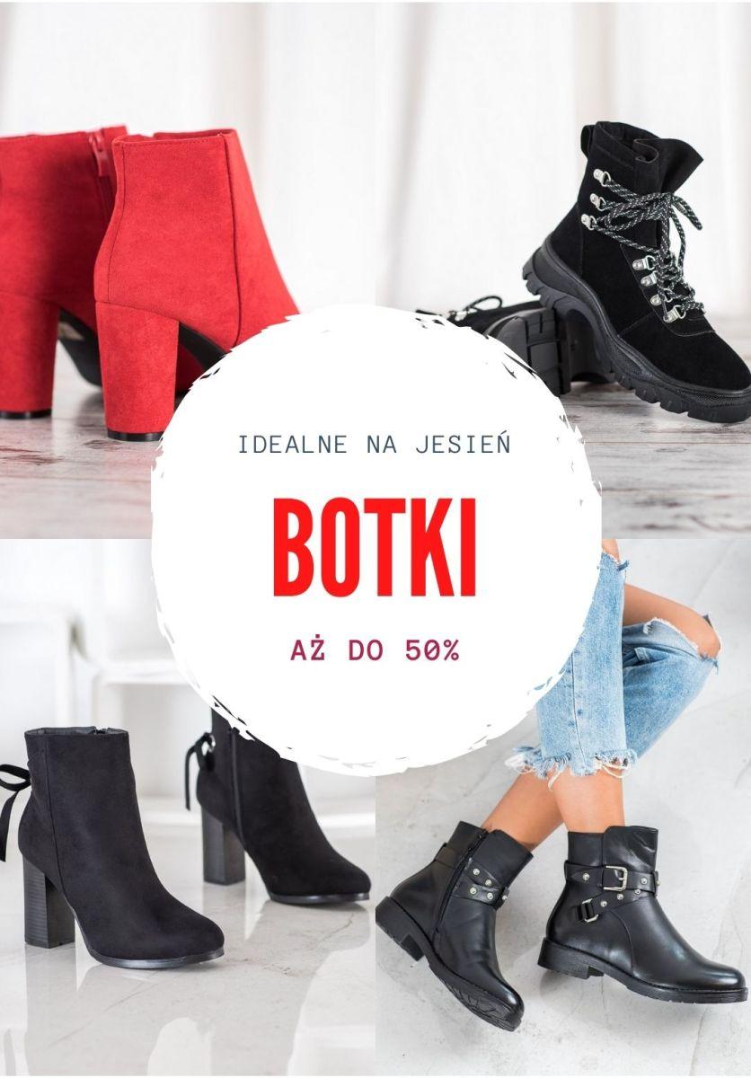 Gazetka Czasnabuty.pl - Do -50% na botki damskie