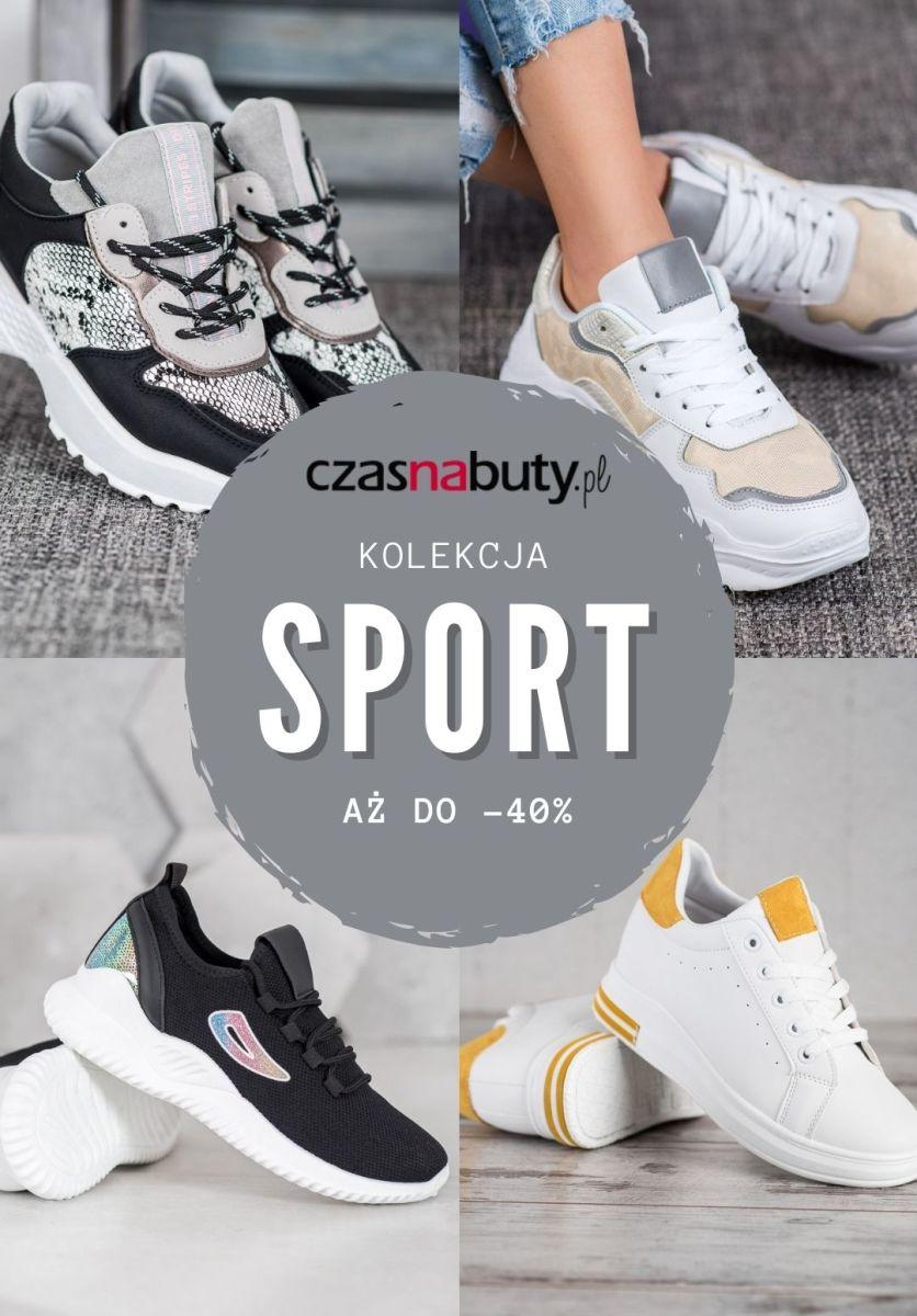 Gazetka Czasnabuty.pl - Do -40% na kolekcję sportową