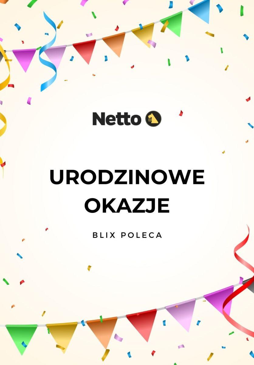 Gazetka Netto - Urodzinowe okazje