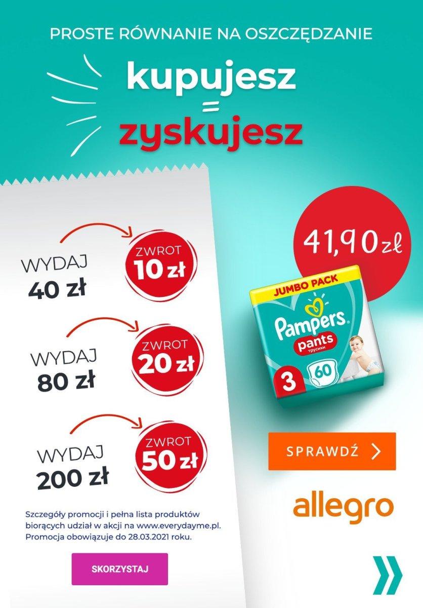 Gazetka Netto - Pampers: najlepsze oferty