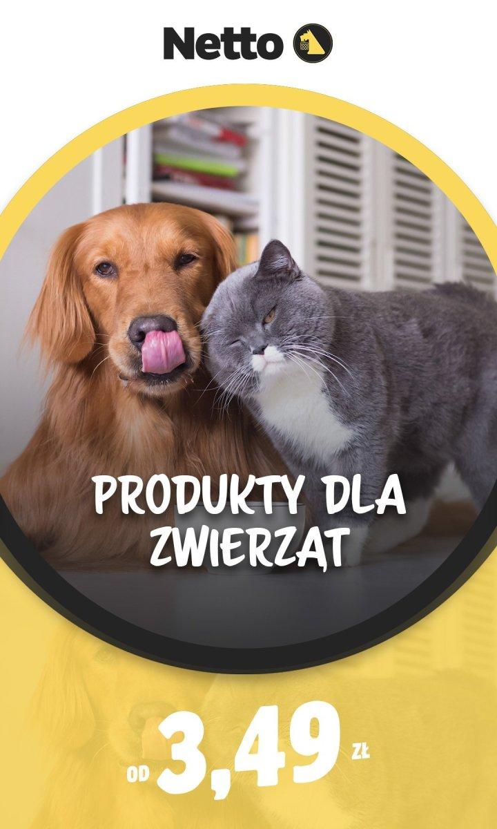 Gazetka Netto - Od 3,49 zł produkty dla zwierząt