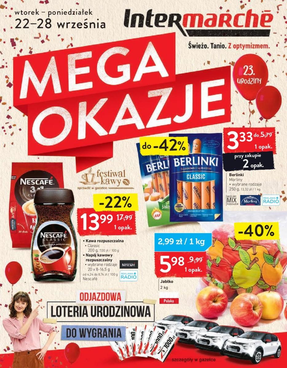 Gazetka Intermarche - Gazetka
