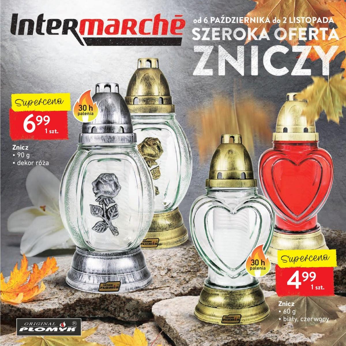 Gazetka Intermarche - Szeroka oferta zniczy