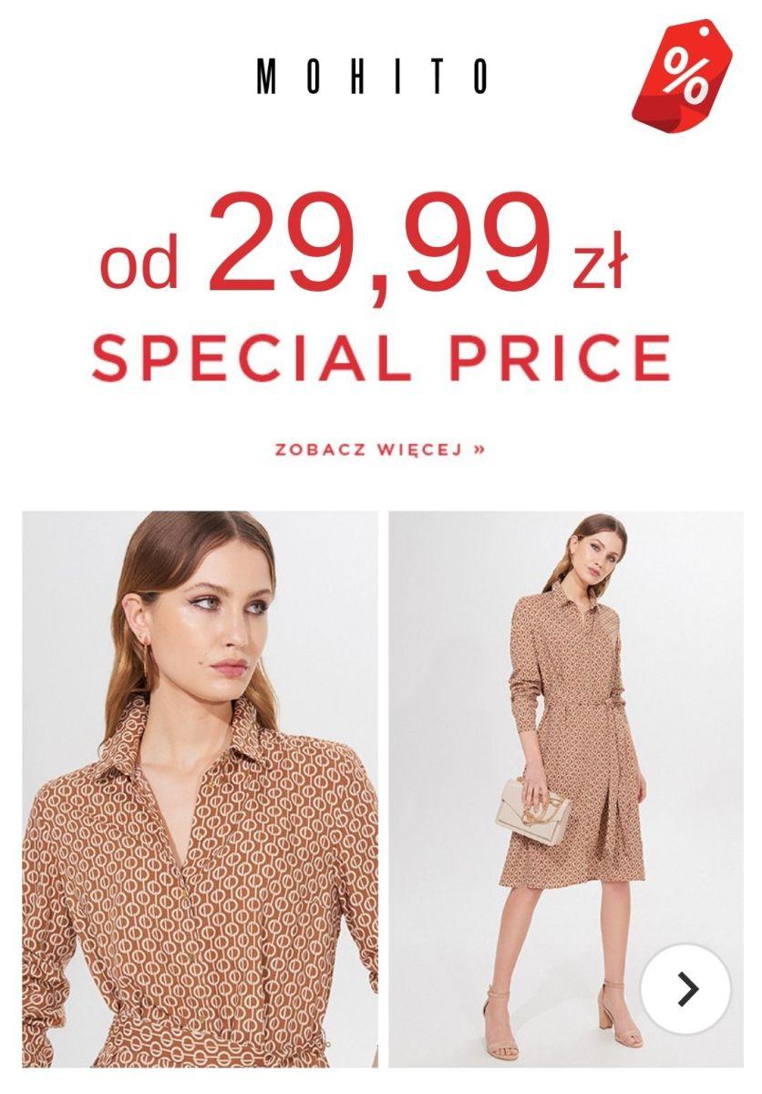 Gazetka Mohito - Od 29,99 zł SPECIAL PRICE