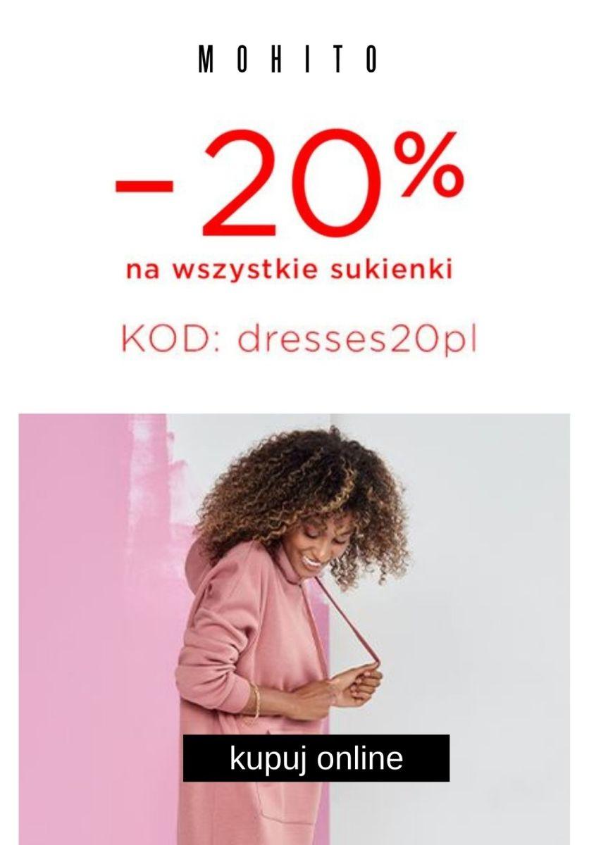 Gazetka Mohito - -20% na sukienki