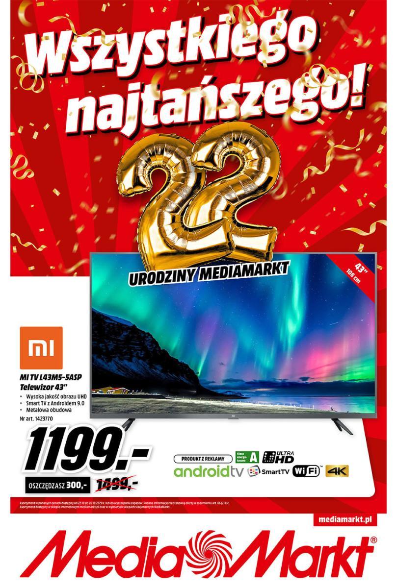Gazetka Media Markt - Wszystkiego najtańszego!