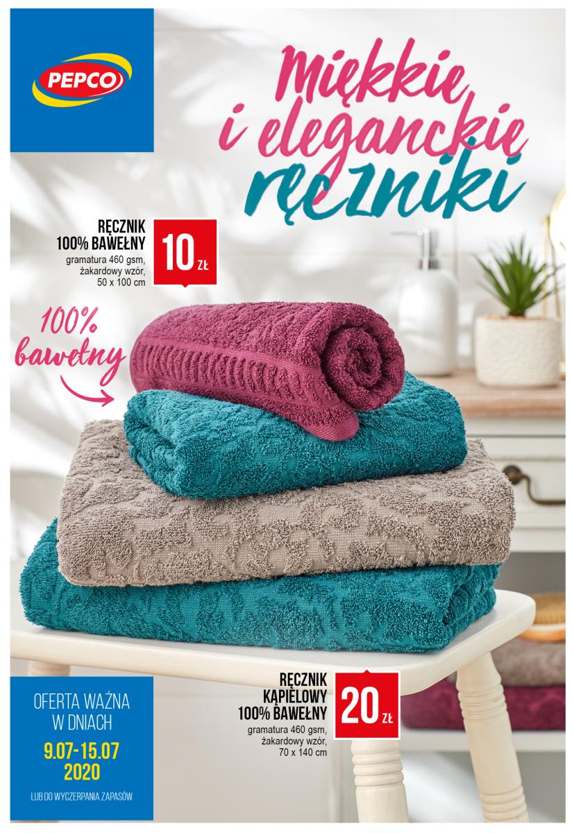 Gazetka Pepco - Miękkie i eleganckie ręczniki