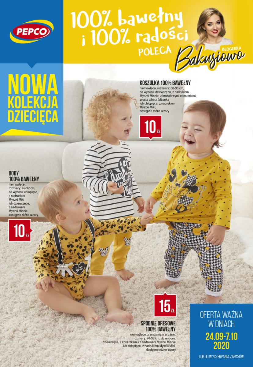 Gazetka Pepco - Nowa kolekcja dziecięca