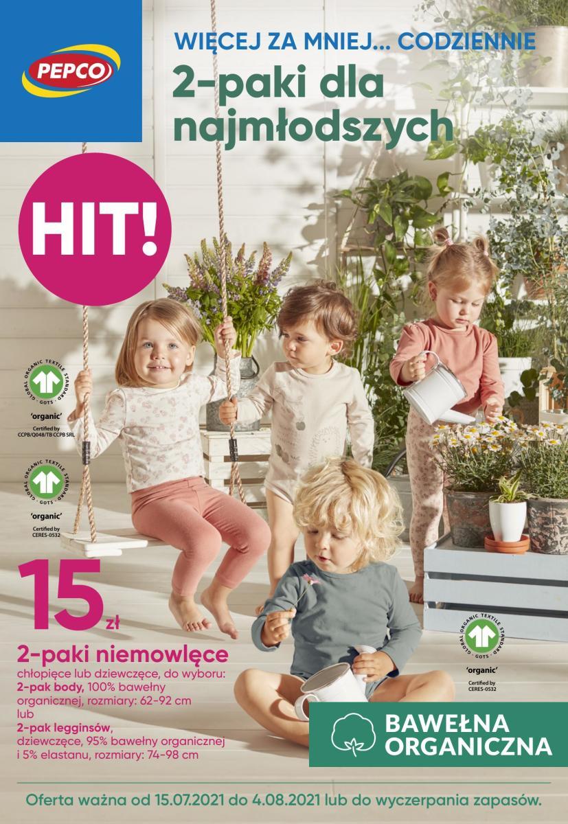 Gazetka Pepco - 2-paki dla najmłodszych