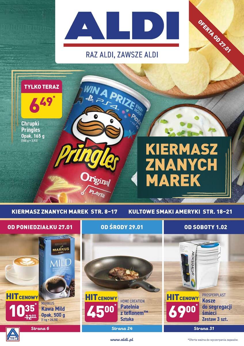Gazetka Aldi - Okazje tygodnia od 27.01