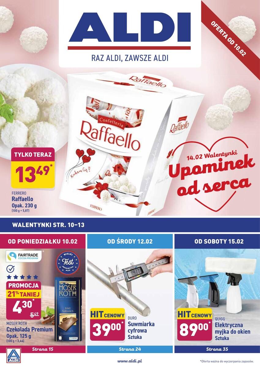 Gazetka Aldi - Okazje tygodnia od 10.02