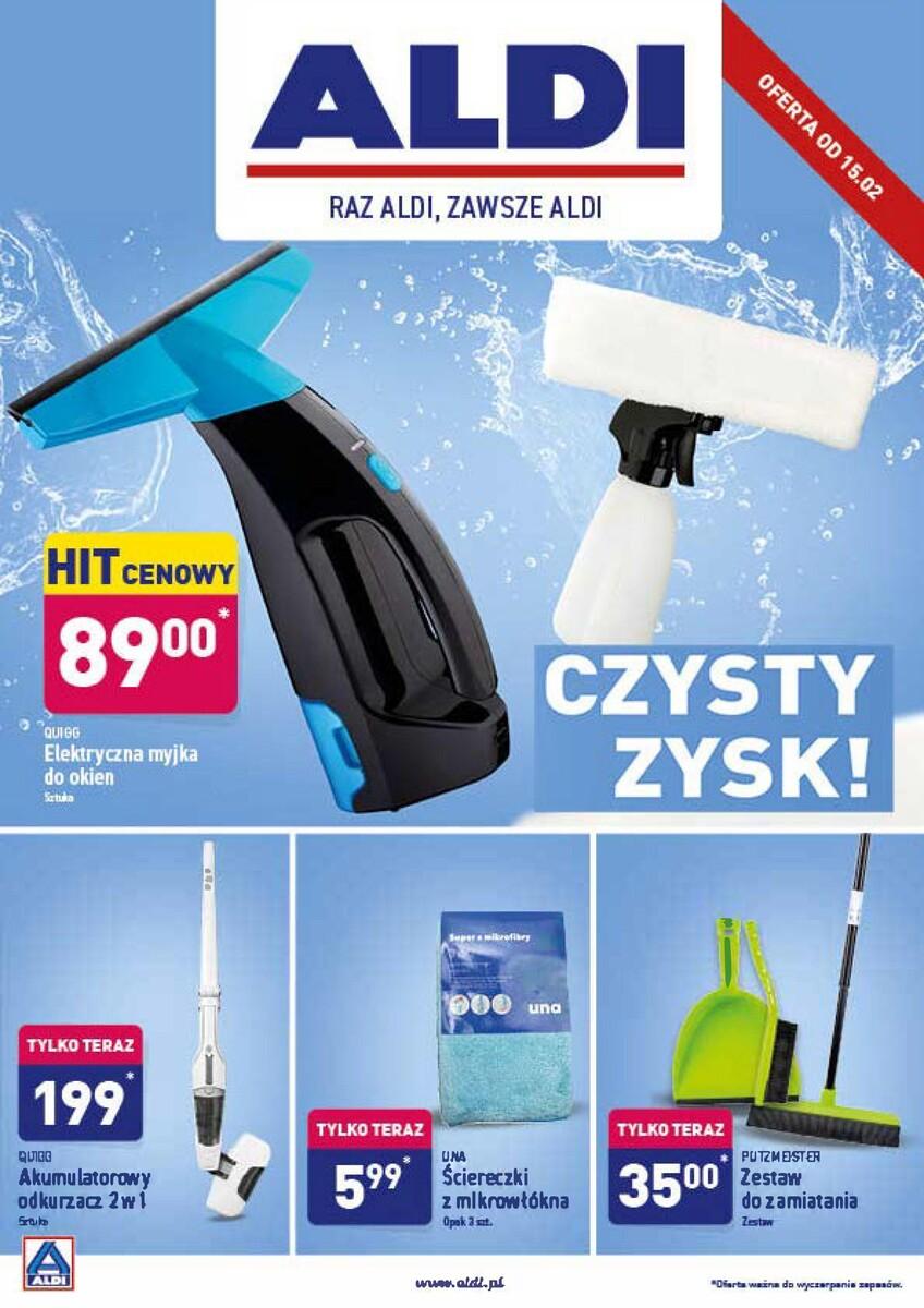 Gazetka Aldi - Hity od soboty 15.02