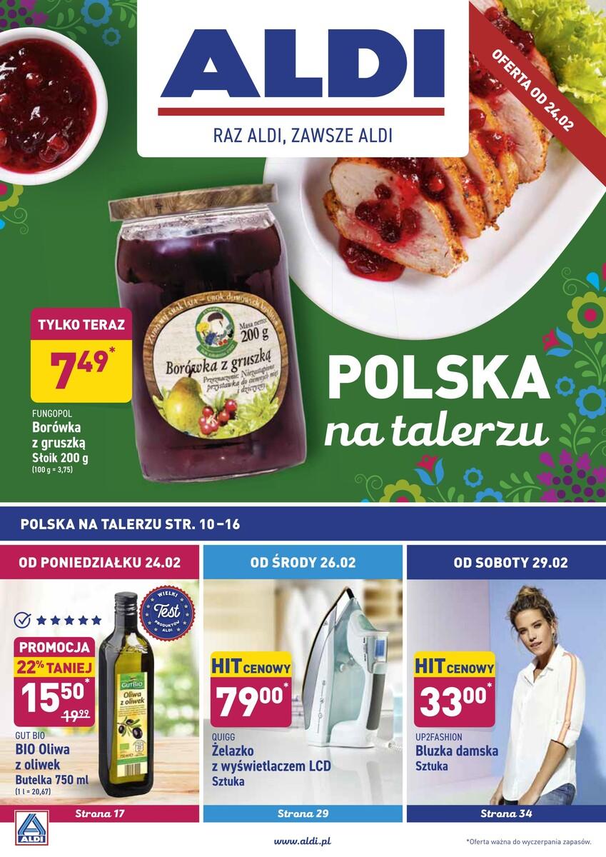 Gazetka Aldi - Okazje tygodnia od 24.02