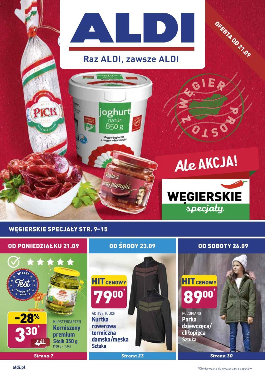 Gazetka Aldi - Okazje tygodnia
