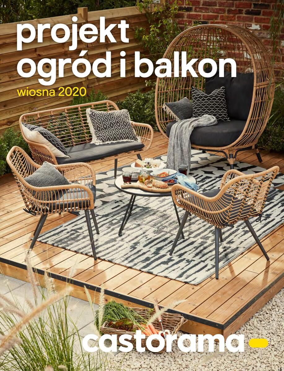 Gazetka Castorama - Projekt ogród i balkon - wiosna 2020