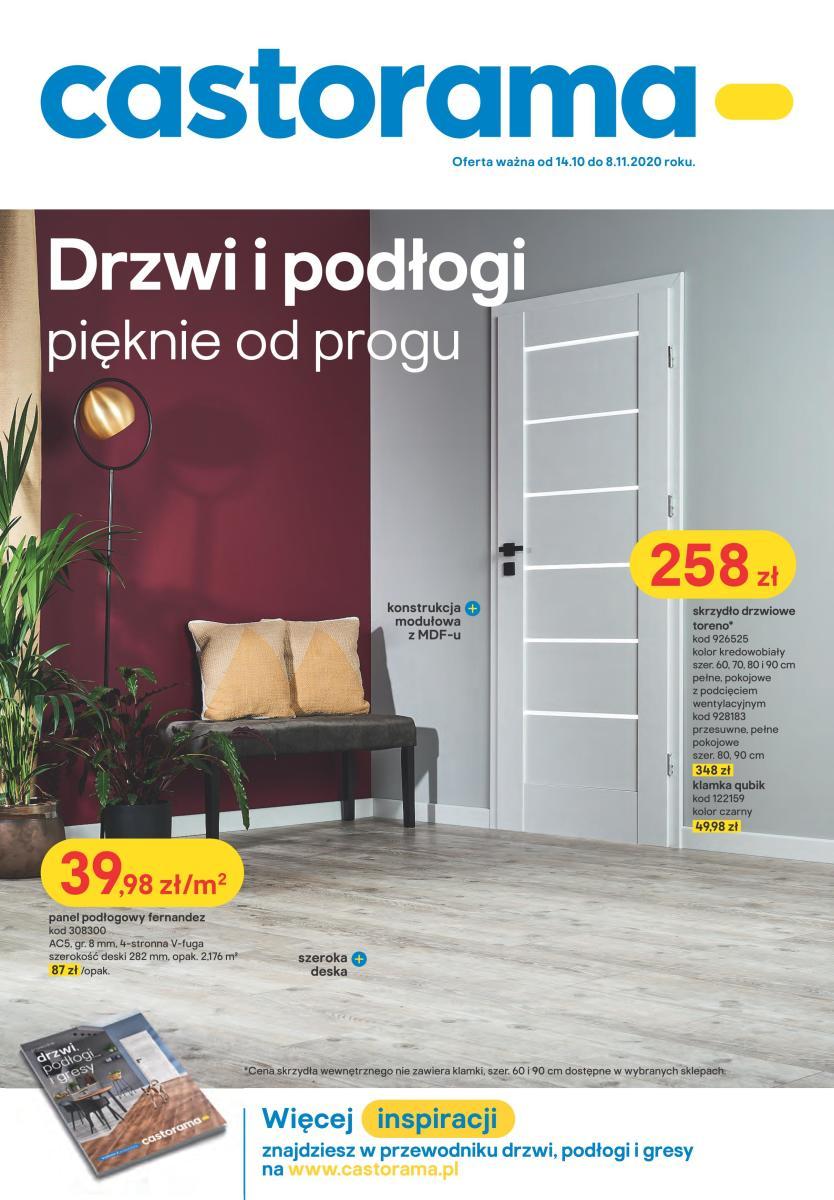 Gazetka Castorama - Drzwi i podłogi - pięknie od progu