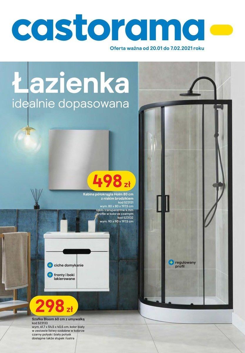 Gazetka Castorama - Łazienka